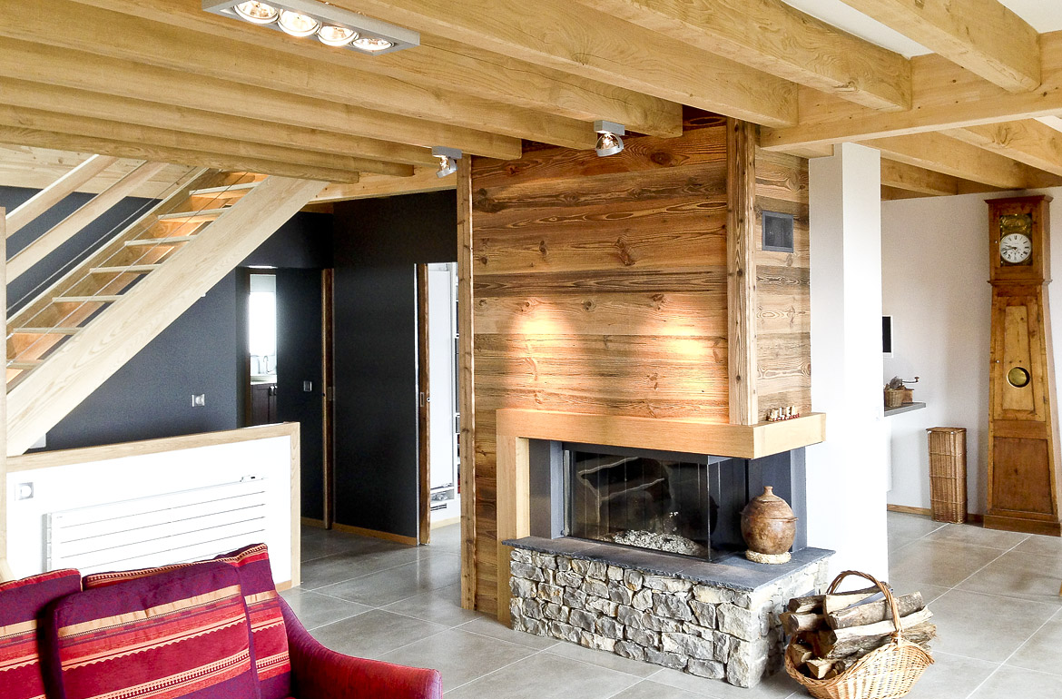 Architecte grenoble am nagement int rieur le chalet for Amenagement interieur chalet