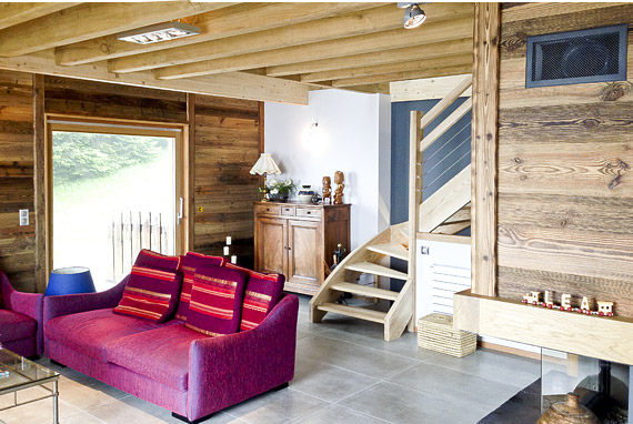 Architecte grenoble am nagement int rieur le chalet montagnard de chartreuse for Programme amenagement interieur