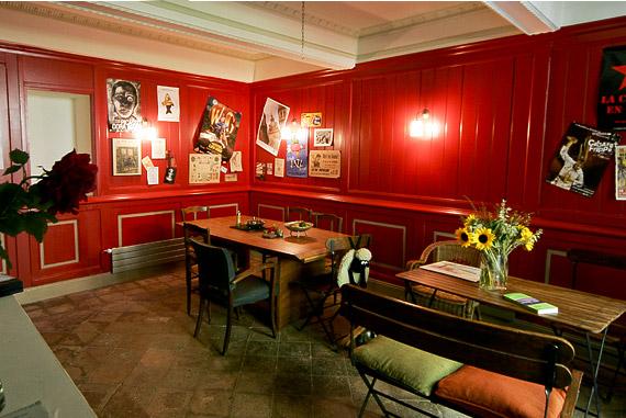 Aménagement d'intérieur de la salle à manger style bistrot