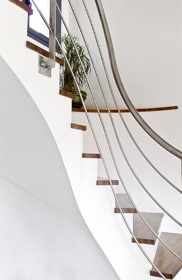 réalisation d'architecture d'escalier intérieur
