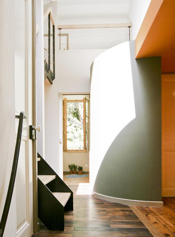 Pièce de la maison et travail d'architecture