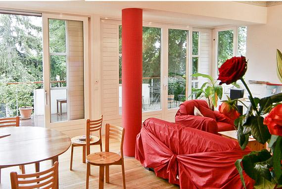 aménagement intérieur et extérieur de terrasse
