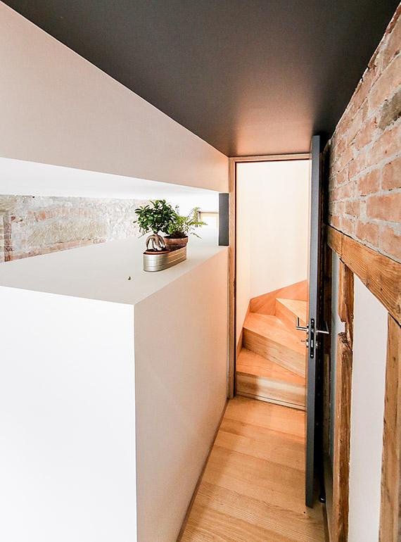 aménagement d'intérieur d'escalier