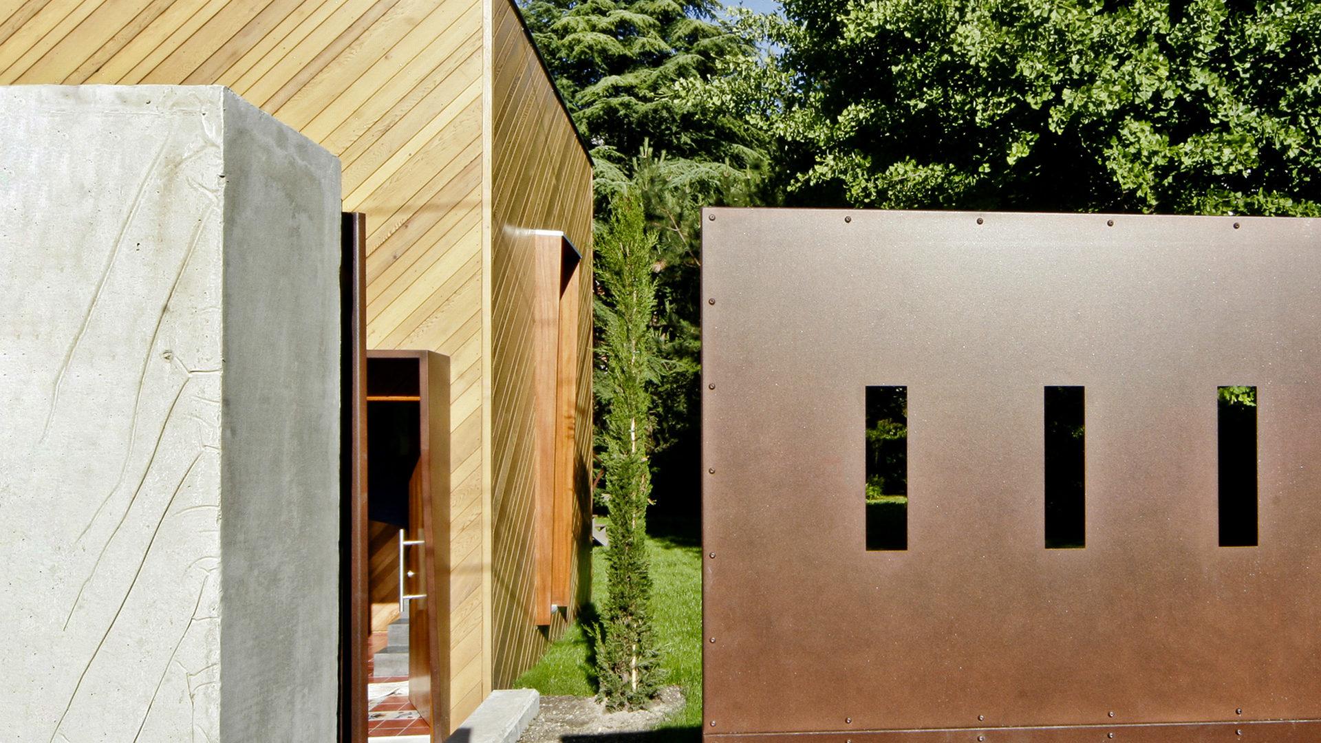 réhabilitation et extension pour maison, architecture